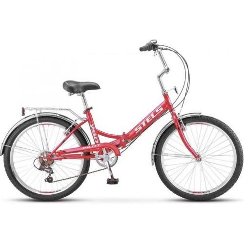 """Велосипед Stels Pilot 750 24"""" Z010 (красный, 2019)"""