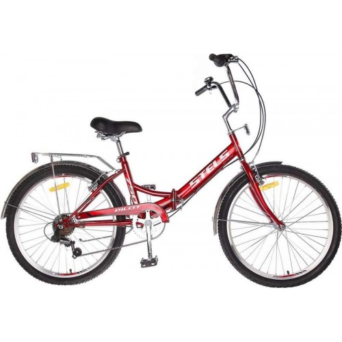 """Велосипед Stels Pilot 750 24"""" Z010 (бордовый, 2019)"""