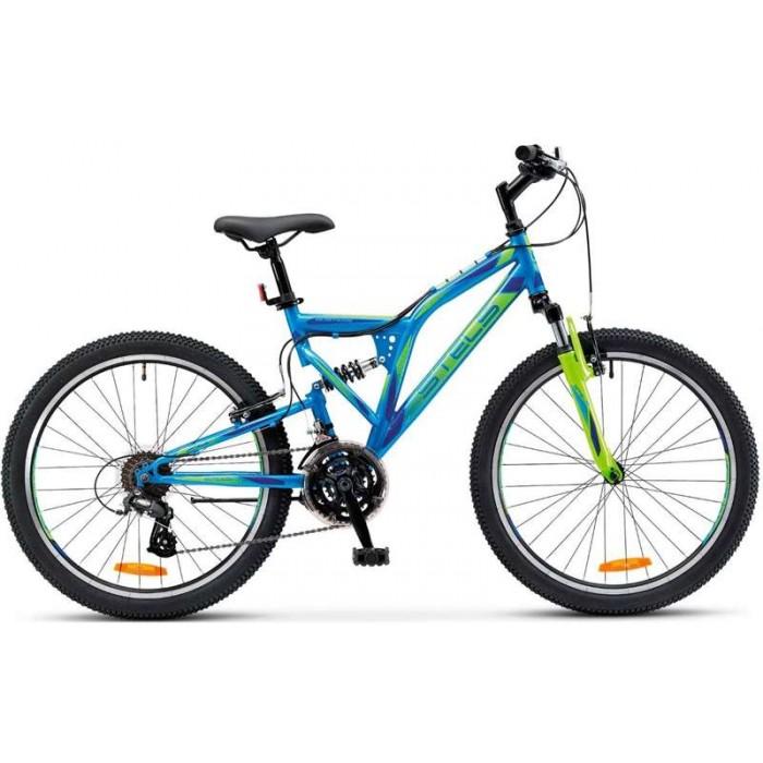 Велосипед Stels Mustang V 24'' V020 (синий, 2019) купить в Минске