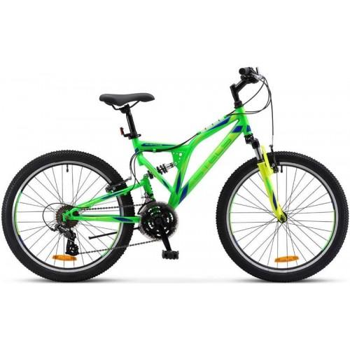 Велосипед Stels Mustang V 24'' V020 (неоновый/зеленый, 2019)