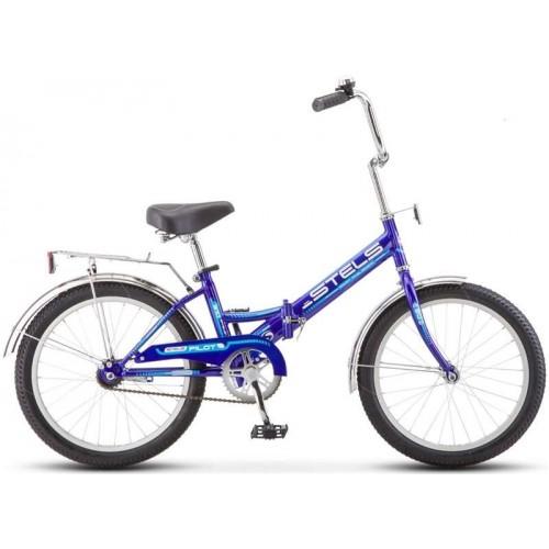 """Велосипед Stels Pilot 310 20"""" Z011 (синий/голубой, 2019)"""