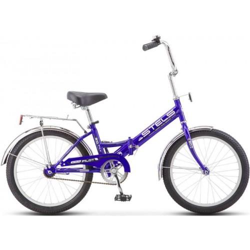 """Велосипед Stels Pilot 310 20"""" Z011 (синий, 2019)"""