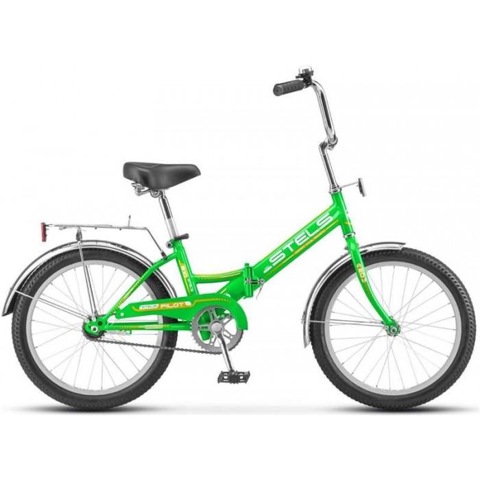 """Велосипед Stels Pilot 310 20"""" Z011 (зеленый/желтый, 2019) купить в Минске"""