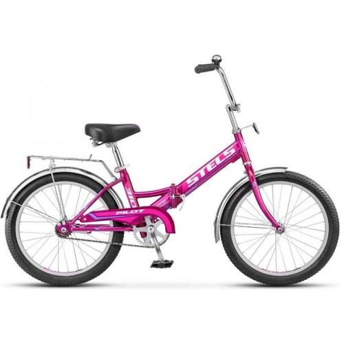 """Велосипед Stels Pilot 310 20"""" Z011 (малиновый, 2019)"""