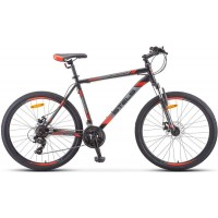 """Велосипед Stels Navigator 500 MD 26"""" F010 (черный/красный, 2019)"""