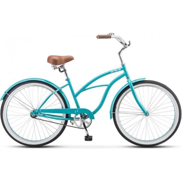"""Велосипед Stels Navigator 110 Lady 26"""" 1-sp V010 (морская волна, 2019) купить в Минске"""