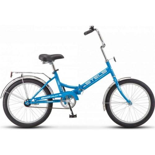 """Велосипед Stels Pilot 410 20"""" Z011 (синий, 2018)"""