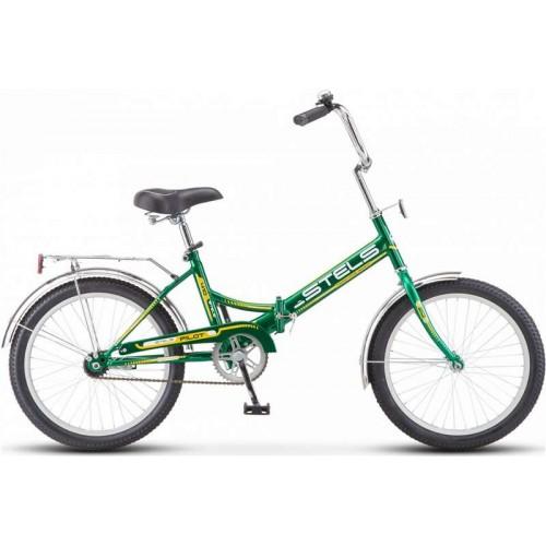 """Велосипед Stels Pilot 410 20"""" Z011 (зеленый/желтый, 2018)"""