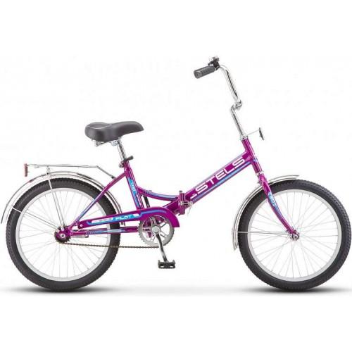 """Велосипед Stels Pilot 410 20"""" Z011 (фиолетовый, 2018)"""