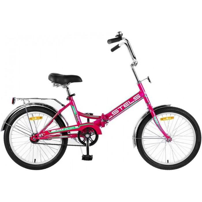 """Велосипед Stels Pilot 410 20"""" Z011 (малиновый, 2018)"""