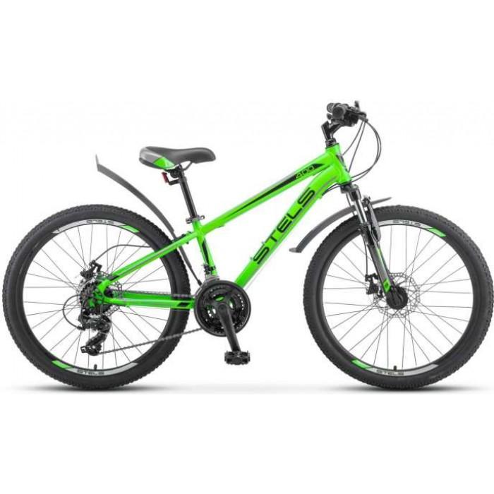 """Велосипед Stels Navigator 400 MD 24"""" F010 (зеленый, 2019) купить в Минске"""