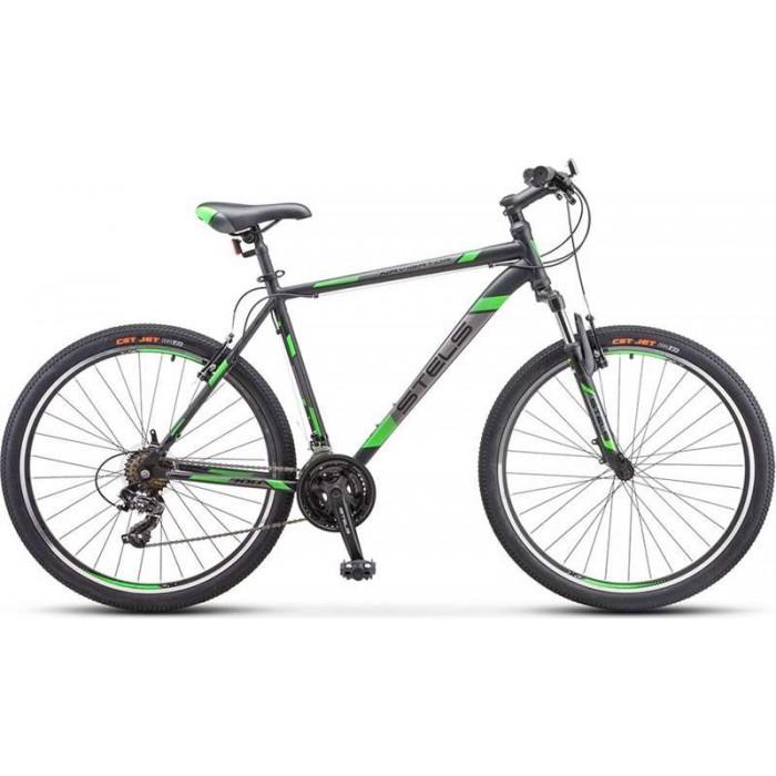 """Велосипед Stels Navigator 700 V 27.5"""" V020 (черный/зеленый, 2019) купить в Минске"""