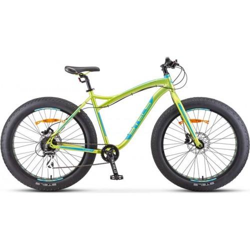 "Велосипед Stels Aggressor D 26"" V010 (зеленый, 2020)"