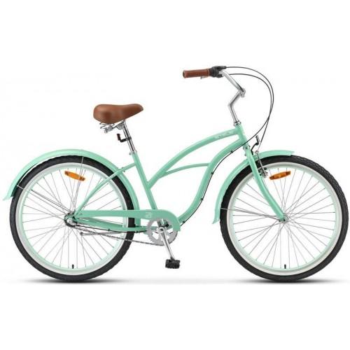 "Велосипед Stels Navigator 130 Lady 26"" 3-sp V010 (бирюзовый, 2020)"