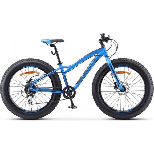 "Велосипед Stels Aggressor D 24"" V010 (голубой, 2020)"