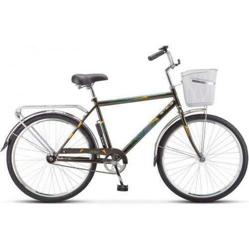 """Велосипед Stels Navigator 200 Gent 26"""" Z010 (коричневый, 2020)"""