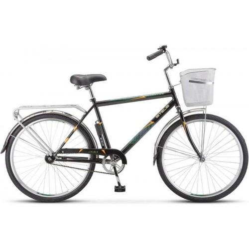 """Велосипед Stels Navigator 200 Gent 26"""" Z010 (черный, 2020)"""