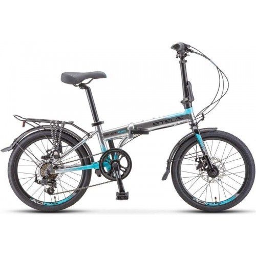 "Велосипед Stels Pilot 630 MD 20"" V010 (хром, 2020)"