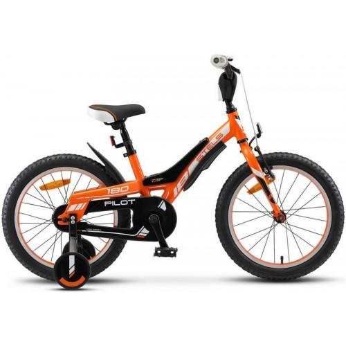 """Велосипед Stels Pilot 180 18"""" V010 (оранжевый, 2020)"""