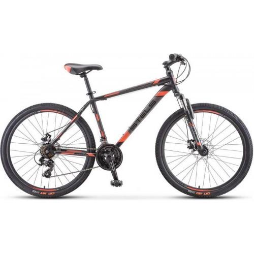 """Велосипед Stels Navigator 500 MD 26"""" F010 (черный/красный, 2020)"""