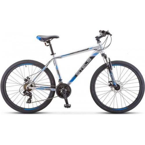 """Велосипед Stels Navigator 500 MD 26"""" F010 (серебристый, 2020)"""