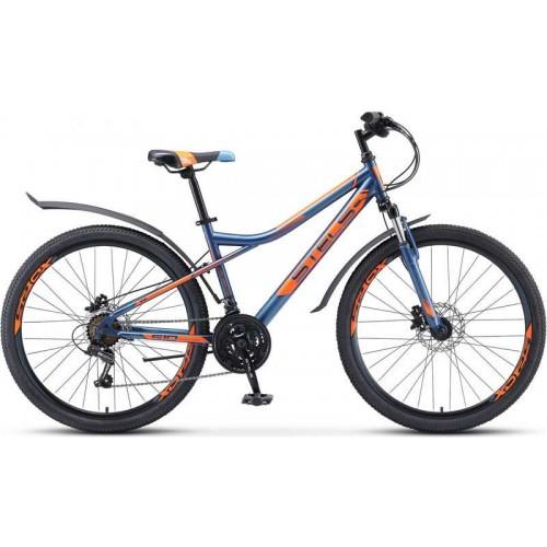 """Велосипед Stels Navigator 510 D 26"""" V010 (темно-синий, 2020)"""