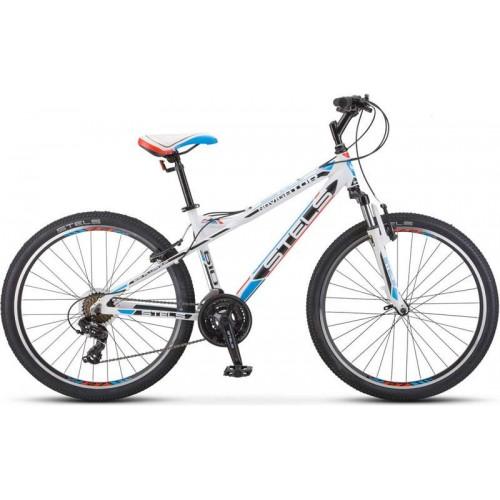 """Велосипед Stels Navigator 610 V 26"""" K010 (белый, 2020)"""