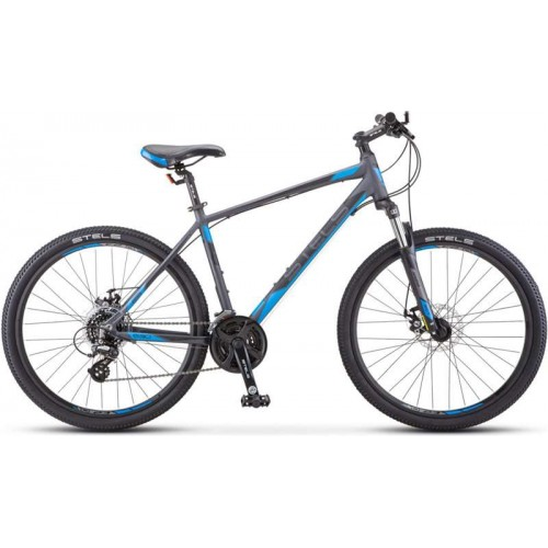 "Велосипед Stels Navigator 630 MD 26"" K010 (серый/синий, 2020)"