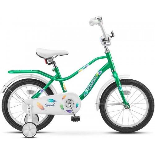 "Велосипед Stels Wind 16"" зелёный (2017)"