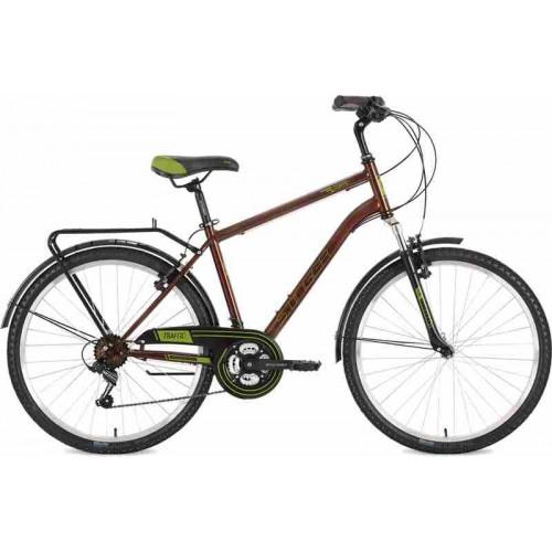 """Велосипед Stinger Traffic 26"""" (коричневый, 2018)"""