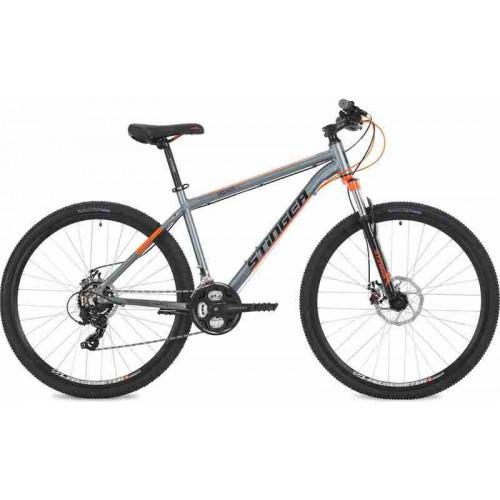 "Велосипед Stinger Graphite STD 27.5"" (серый/оранжевый, 2018)"