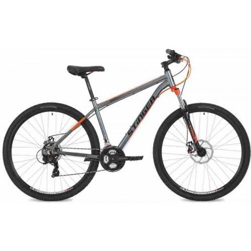 "Велосипед Stinger Graphite STD 29"" (серый/оранжевый, 2018)"