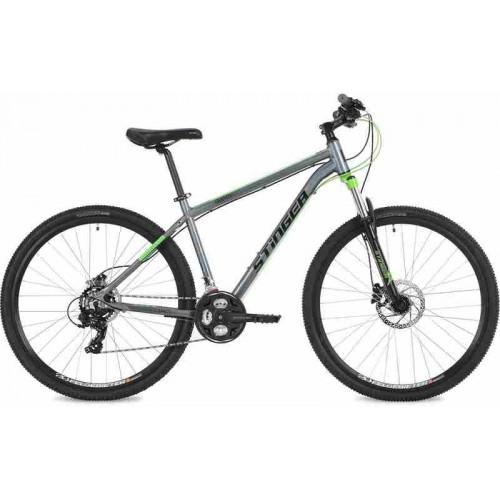 """Велосипед Stinger Graphite Evo 29"""" (серый/зеленый, 2018)"""