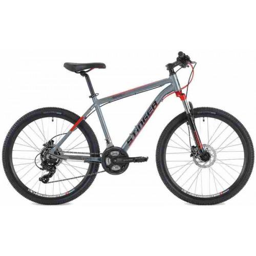 """Велосипед Stinger Graphite Evo 26"""" (серый, 2018)"""