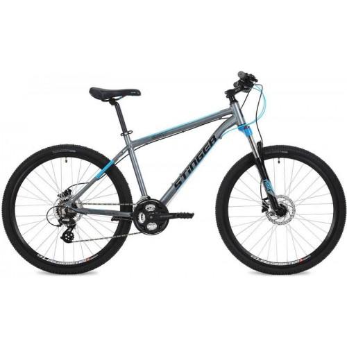 "Велосипед Stinger Graphite Pro 27.5"" (серый, 2019)"