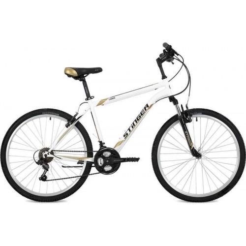 """Велосипед Stinger Caiman 26"""" (белый, 2019)"""