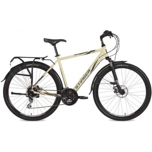 """Велосипед Stinger Horizont Evo 28"""" (бежевый, 2019)"""