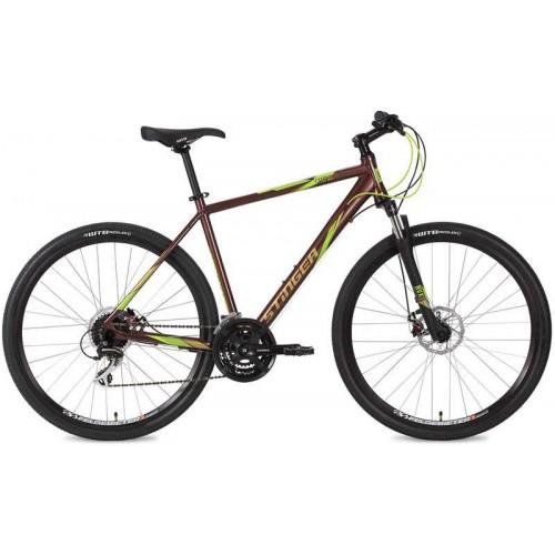 """Велосипед Stinger Campus Evo 28"""" (коричневый, 2019)"""