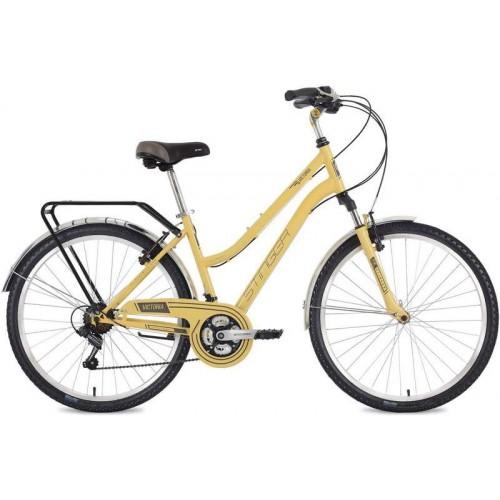 """Велосипед Stinger Victoria 26"""" (бежевый, 2019)"""