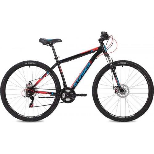 """Велосипед Stinger Caiman D 27.5"""" (черный, 2020)"""