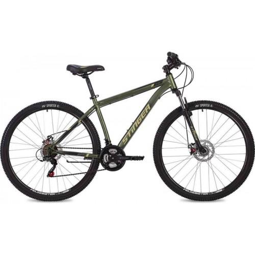 """Велосипед Stinger Caiman D 27.5"""" (зеленый, 2020)"""