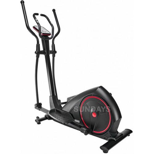 Эллиптический тренажер Sundays Fitness K8718HP (черный/красный)