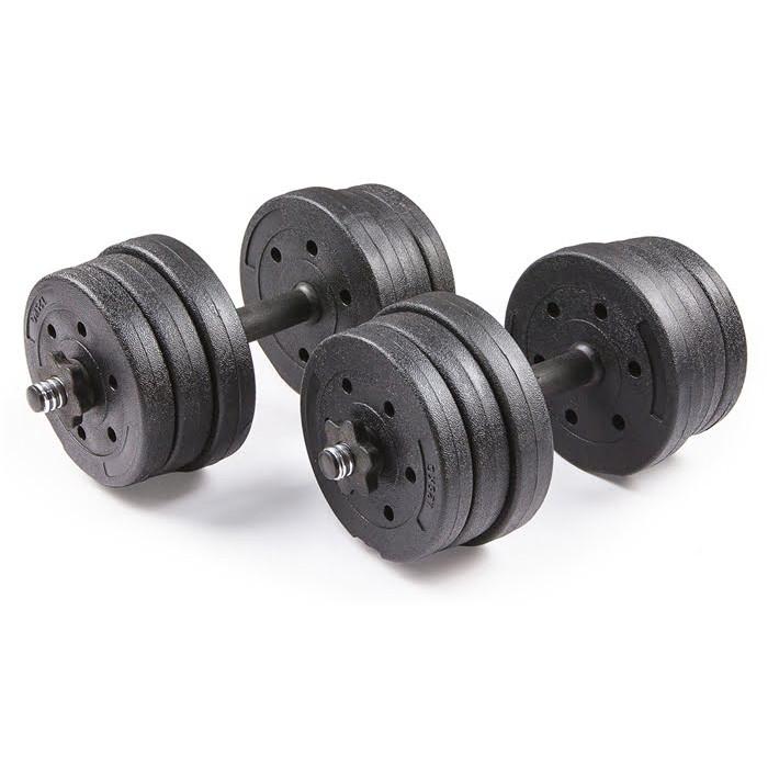 Набор композитных гантелей Trex Sport 20кг