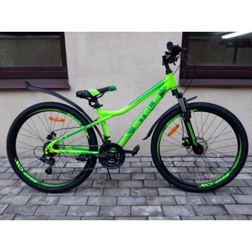 "Велосипед Stels Navigator 510 MD 26"" V010 (салатовый, 2020)"