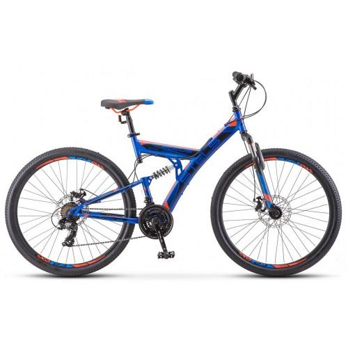 "Велосипед Stels Focus MD 21-sp 27.5"" V010 (синий, 2019)"