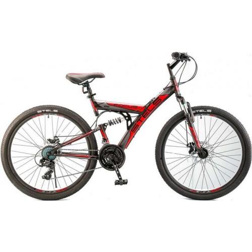 """Велосипед Stels Focus MD 21-sp 26"""" V010 (чёрный/красный,2018)"""
