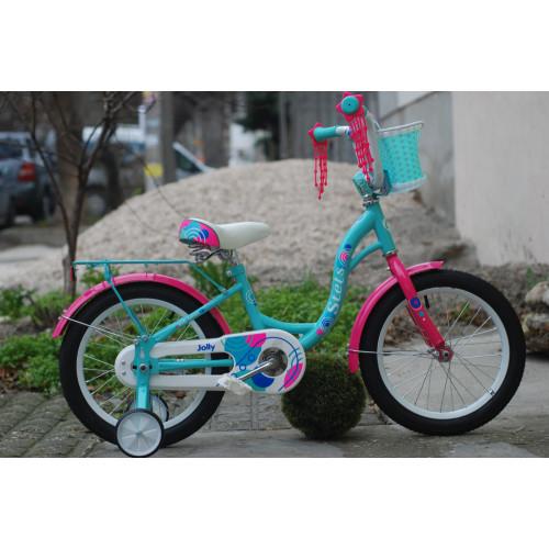 Детский велосипед Stels Jolly 16 V010 (мятный, 2021)