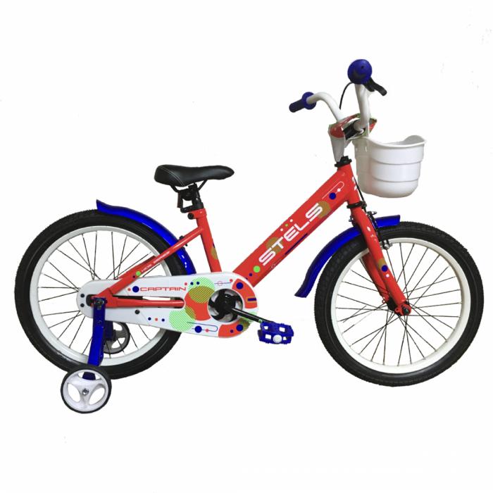 """Детский велосипед STELS Captain 18"""" V010 (красный,2020) купить в Минске"""