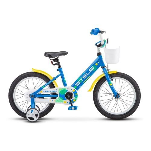 """Детский велосипед Stels Captain 16"""" V010 (синий, 2020)"""