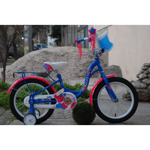 "Детский велосипед STELS Jolly 16"" V010 (синий, 2020)"